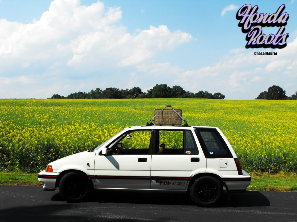ROTM September: Chase Maurer's '87 RT-AWD Civic Wagovan