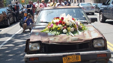 """Funeral for a '82 Civic, ole """"Bluey"""""""