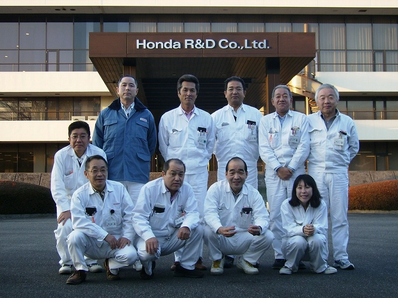 A day with Honda Japan R&D's, Tomio Chiba