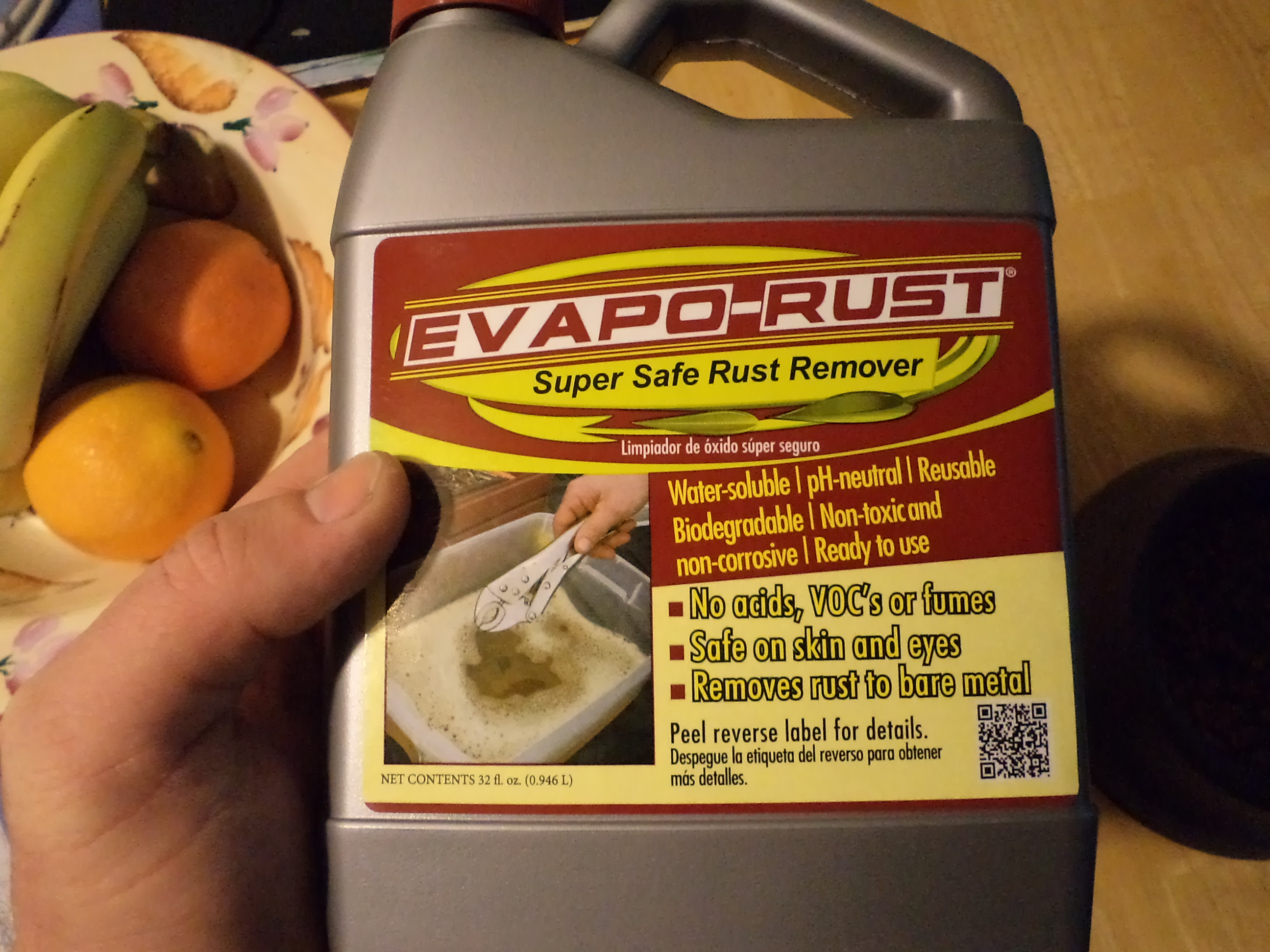 Product Review: Evaporust.