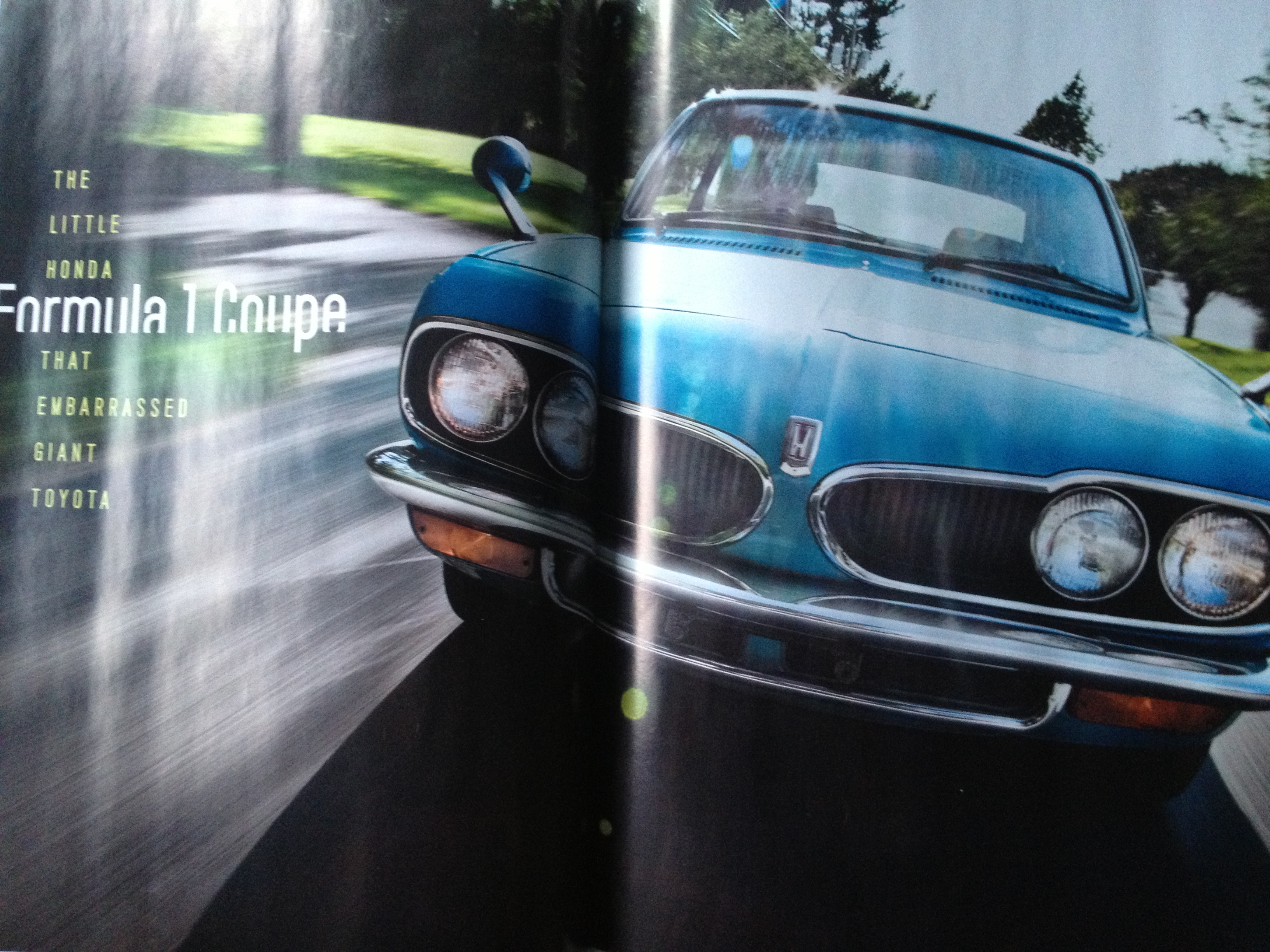 Motor Trend Classic features Honda 1300 Coupe 9 in US