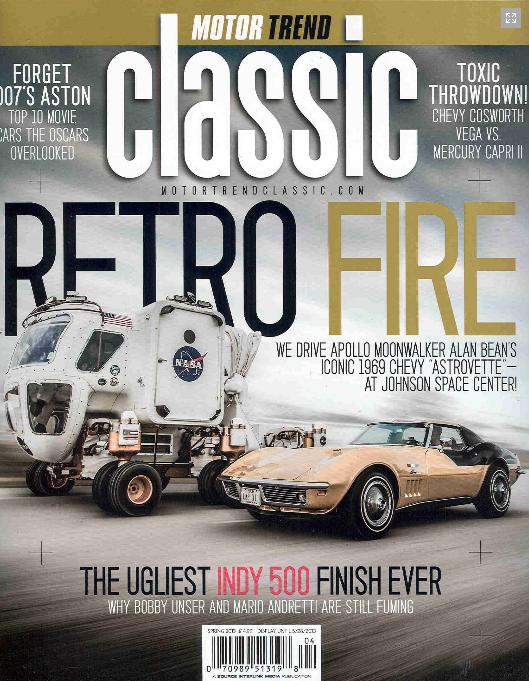 Motor Trend Classic Spring 2013 Cover