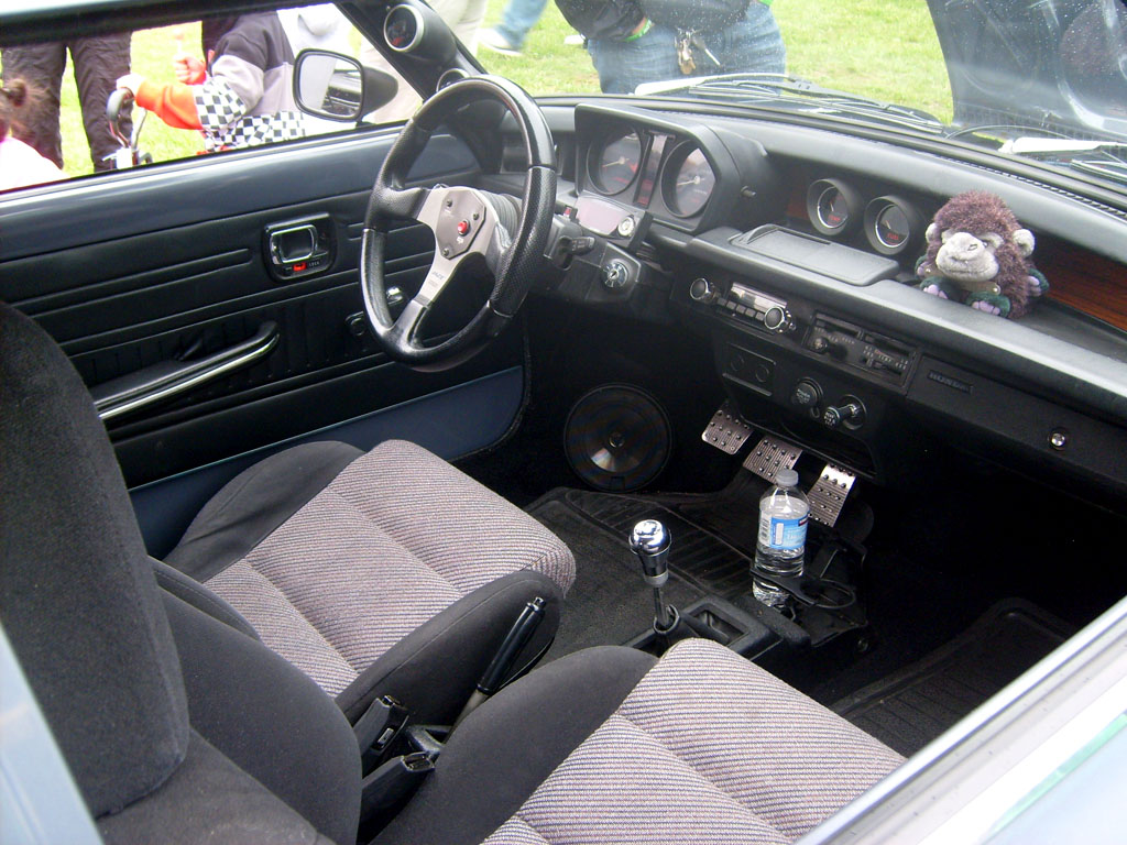 Interior Shot of Victor Ho's Car