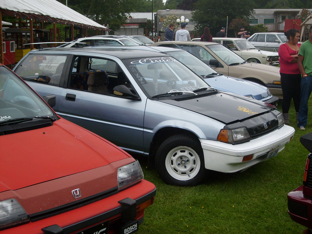 3g Civic at Old School Reunion 2013