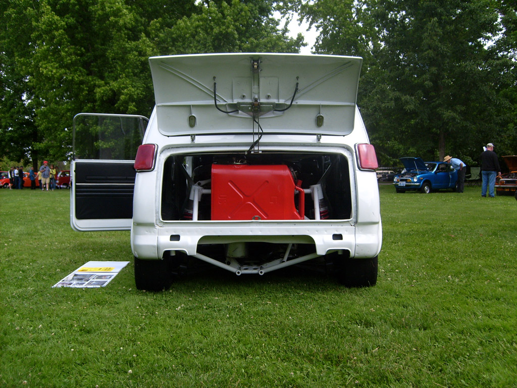 Bryce Nash's Swapped N600 Rear