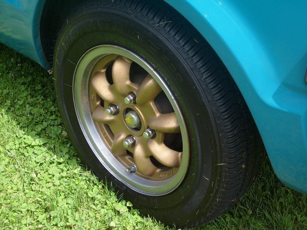 James Airey's Civic 1200 Enkei Wheel