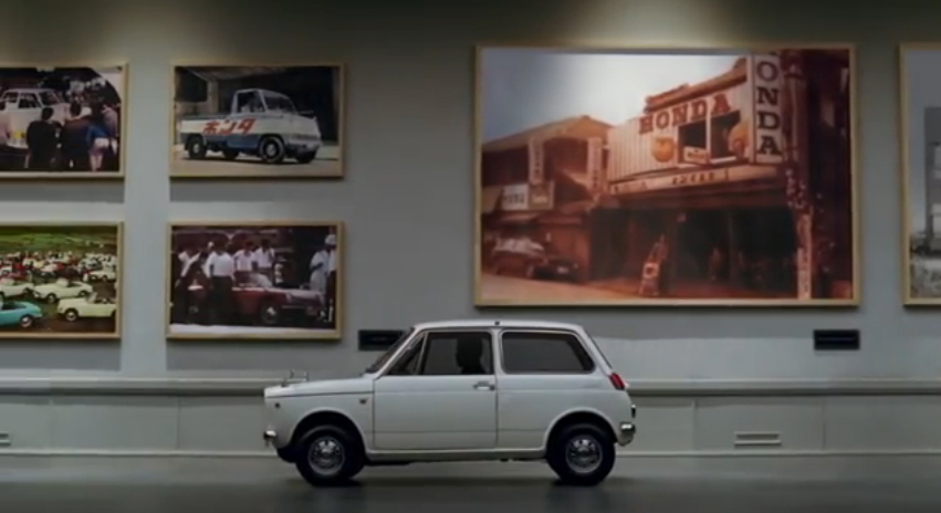 "Honda Japan celebrates 50 years with ""50th Museum"" Ad"