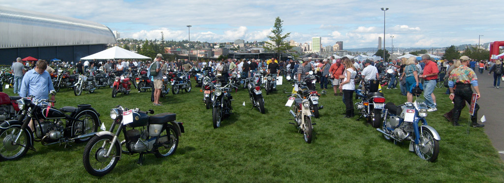 The MEET at The LeMay Museum - Vintage Motorcycle Show Gallery