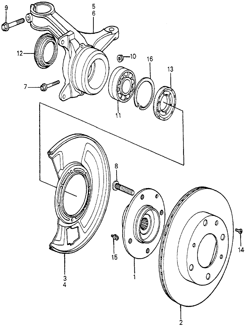 82-accord-knuckle-hub