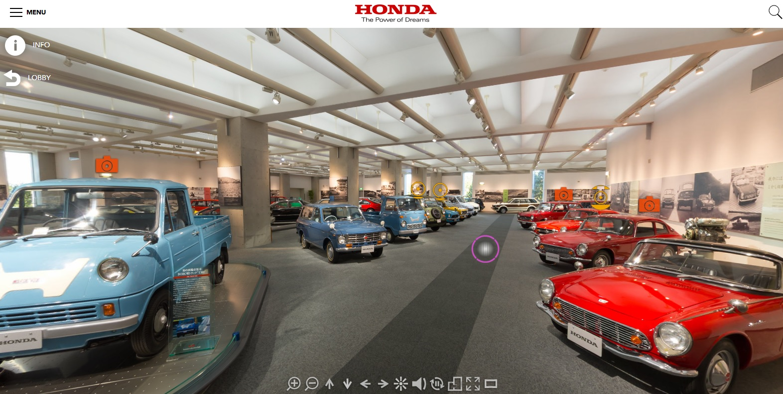 Honda Collection Hall Virtual Reality?