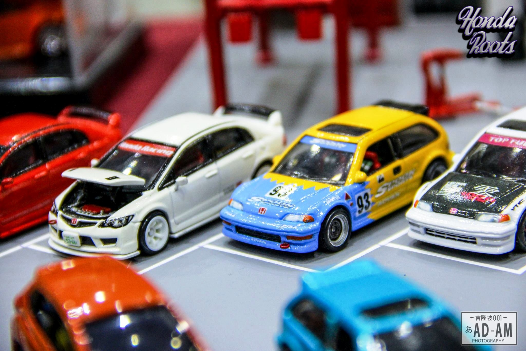 Honda Day 2016 Diecast Toy Lineup