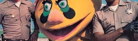 Nostalgia - CHiPs pull over Honda Accord with HR Pufnstuf?