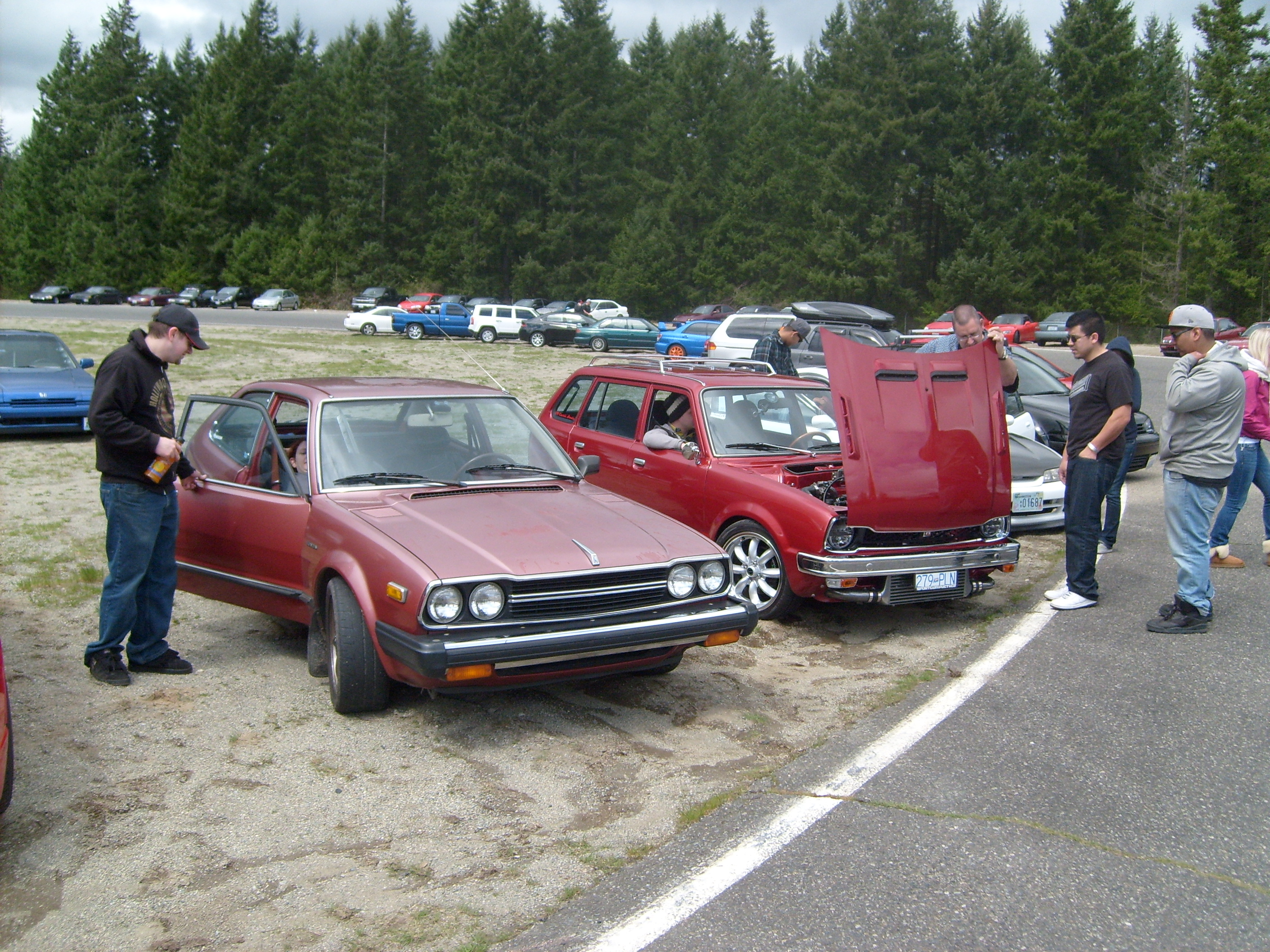 3geez Seattle Meet & Old School Rides of Honda-Tech Seattle