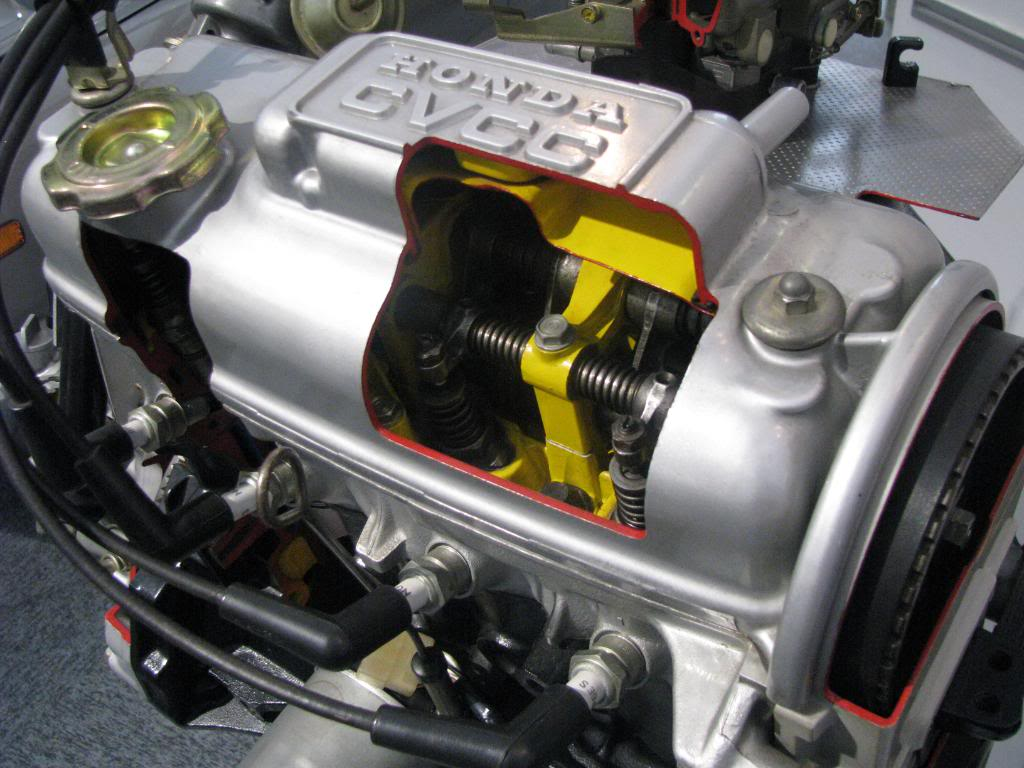 Honda Cvcc Compound Vortex Controlled Combustion History 1970 Civic