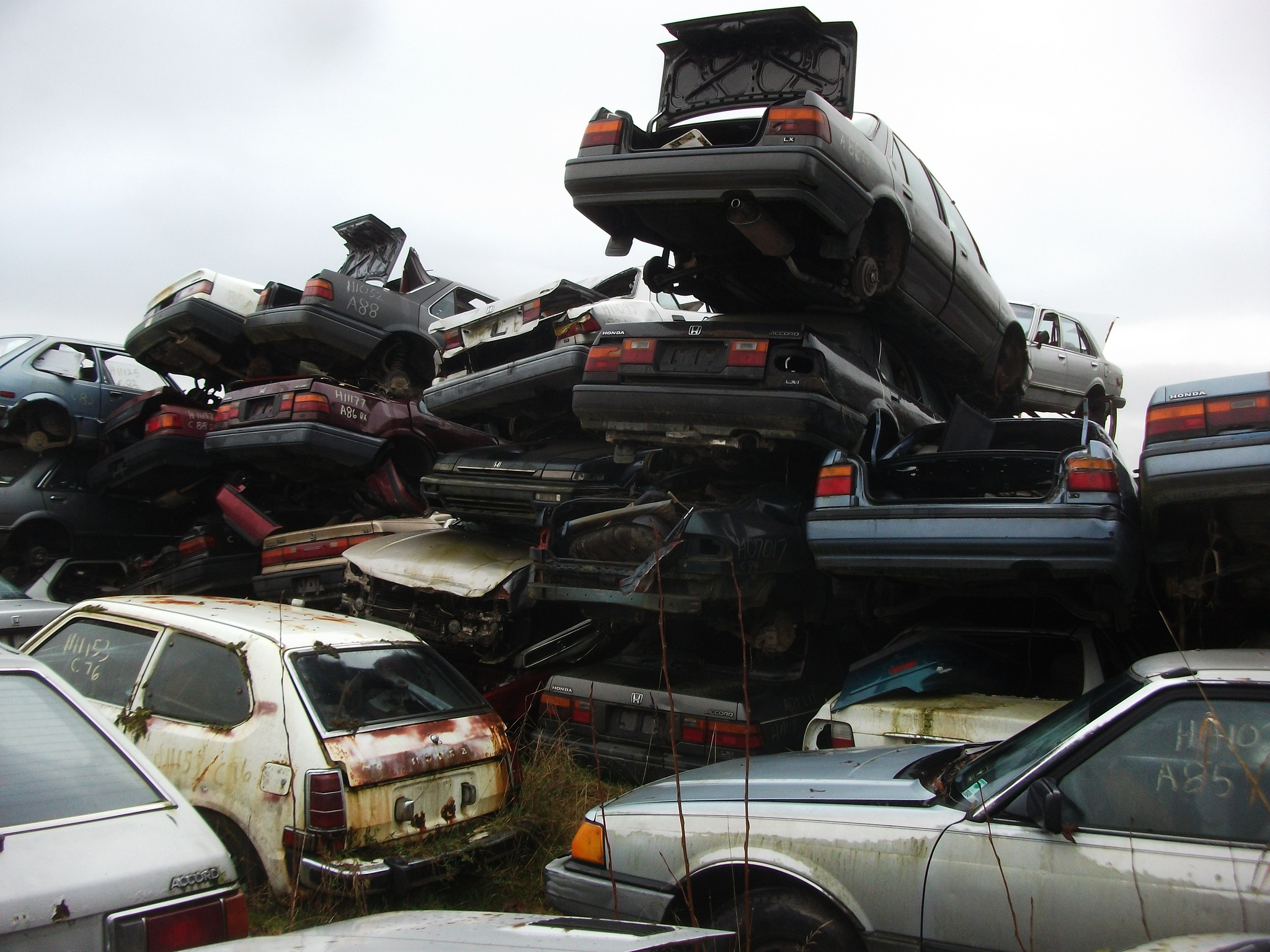 How California Salvage Yards and Parts Could Be The Next To Go