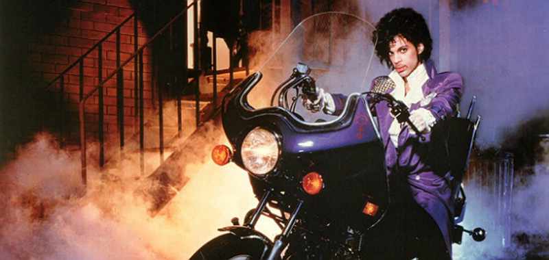 "Prince's ""Purple Rain"" Modified Honda CB400A Motorcycle"