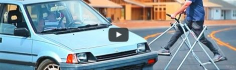 Car Bros' Gympkhana Video Spanks Around a 1985 Civic 4WD Wagovan
